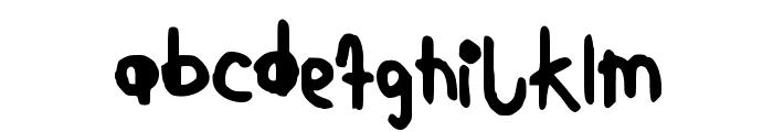 KindergartenNBP Font LOWERCASE