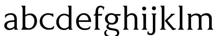 KindersleyGA OldStyleFigure Font LOWERCASE