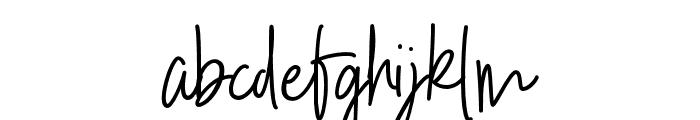 Kinderspiel Script DEMO Regular Font LOWERCASE