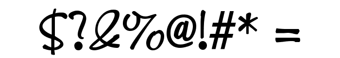 KineticSCapsSSK Regular Font OTHER CHARS