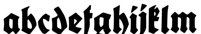 King Arthur Legend Font LOWERCASE