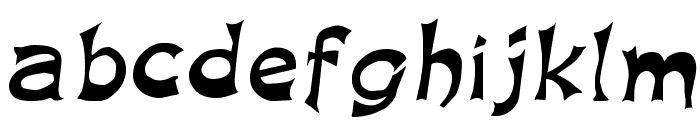King Arthur Special Normal Font LOWERCASE