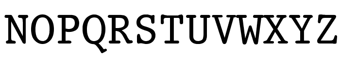 King Font UPPERCASE
