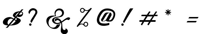KingCityFreeFont Font OTHER CHARS