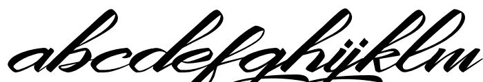 KingCityFreeFont Font LOWERCASE