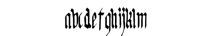 KingGeorg-Regular Font LOWERCASE
