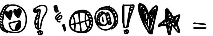 KingJames Font OTHER CHARS