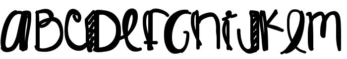 KingJames Font UPPERCASE