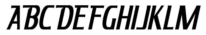 KingRichard-Italic Font UPPERCASE