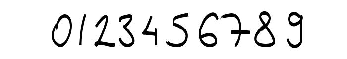 Kinga's Handwriting Font OTHER CHARS