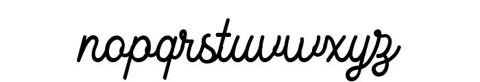 KingbirdsRegularDEMO Font LOWERCASE