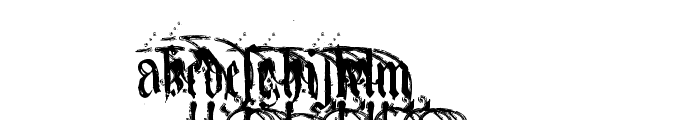 KingjolA Font UPPERCASE