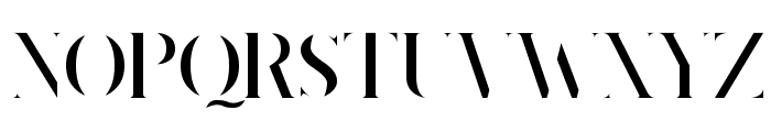 King's Gambit Font UPPERCASE