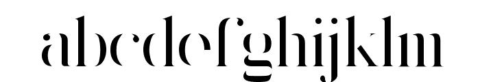 King's Gambit Font LOWERCASE