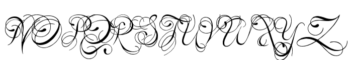 Kings and Queens Font UPPERCASE