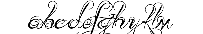 Kings and Queens Font LOWERCASE