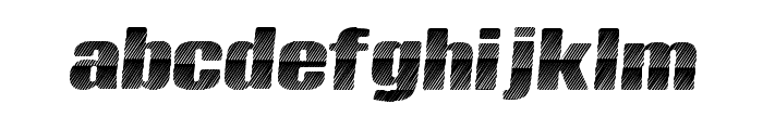 KingsCastle Font LOWERCASE