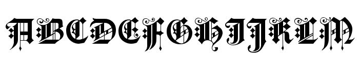KingsCross Font UPPERCASE
