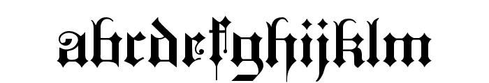 KingsCross Font LOWERCASE