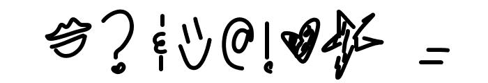 KingsKardashhh Font OTHER CHARS