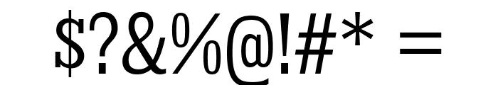KingsbridgeCdBk-Regular Font OTHER CHARS