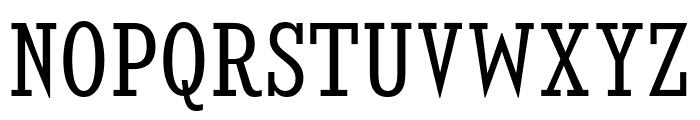 KingsbridgeCdBk-Regular Font UPPERCASE