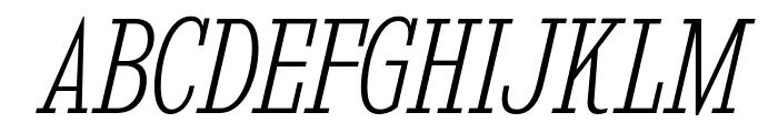 KingsbridgeCdEl-Italic Font UPPERCASE