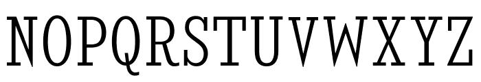 KingsbridgeCdLt-Regular Font UPPERCASE