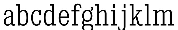 KingsbridgeCdLt-Regular Font LOWERCASE