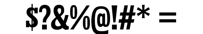 KingsbridgeCdRg-Bold Font OTHER CHARS