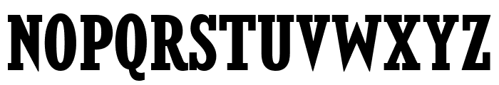KingsbridgeCdRg-Bold Font UPPERCASE