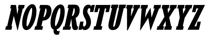 KingsbridgeCdRg-BoldItalic Font UPPERCASE