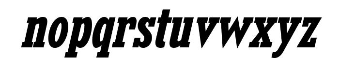 KingsbridgeCdRg-BoldItalic Font LOWERCASE