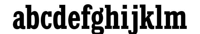 KingsbridgeCdRg-Bold Font LOWERCASE