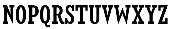 KingsbridgeCdSb-Regular Font UPPERCASE