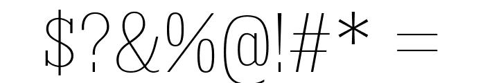 KingsbridgeCdUl-Regular Font OTHER CHARS