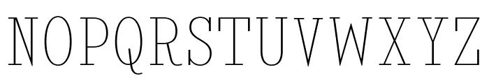 KingsbridgeCdUl-Regular Font UPPERCASE