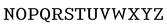 KingsbridgeExBk-Regular Font UPPERCASE