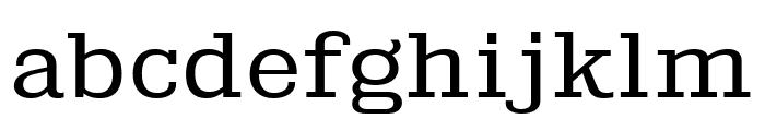 KingsbridgeExBk-Regular Font LOWERCASE