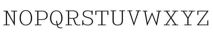 KingsbridgeExEl-Regular Font UPPERCASE