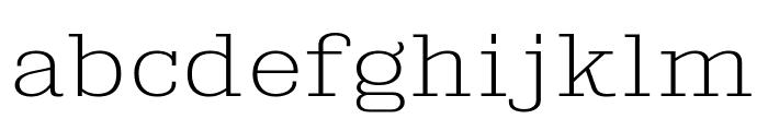 KingsbridgeExEl-Regular Font LOWERCASE