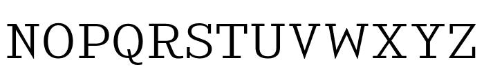 KingsbridgeExLt-Regular Font UPPERCASE