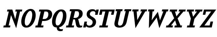 KingsbridgeExRg-Italic Font UPPERCASE
