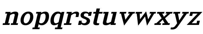 KingsbridgeExRg-Italic Font LOWERCASE