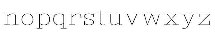 KingsbridgeExUl-Regular Font LOWERCASE