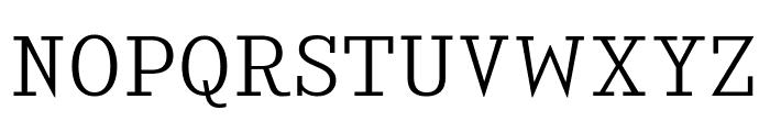 KingsbridgeLt-Regular Font UPPERCASE