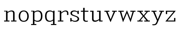 KingsbridgeLt-Regular Font LOWERCASE