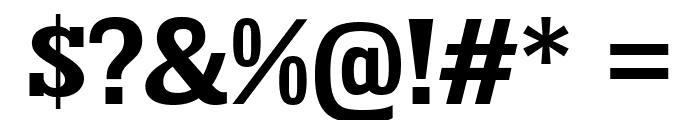 KingsbridgeRg-Bold Font OTHER CHARS