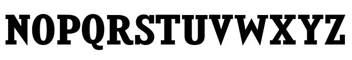 KingsbridgeRg-Bold Font UPPERCASE