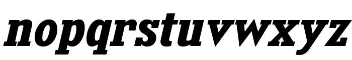 KingsbridgeRg-BoldItalic Font LOWERCASE
